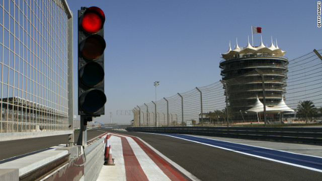 In 2011, the F1 race track at Bahrain Intl. Circuit was quite while anti-government protests continued.
