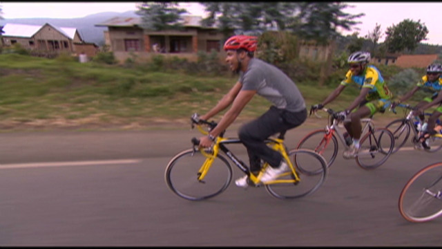 Cycling the rainy roads of Rwanda
