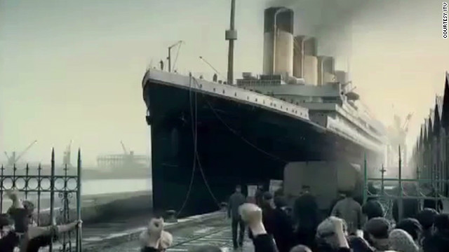 A history of the Titanic on film