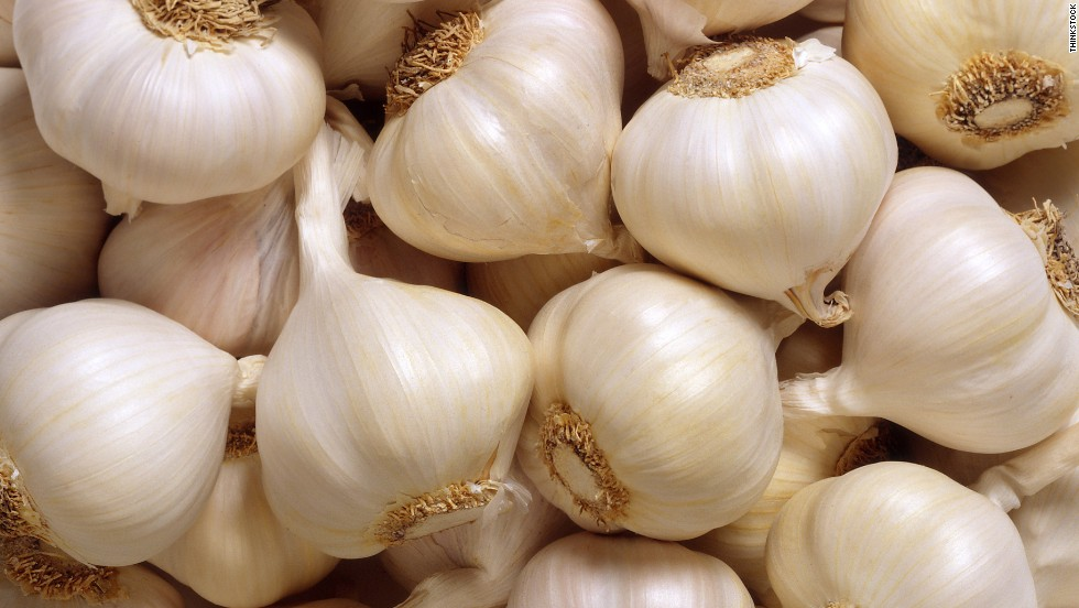 """Garlic contains allicin, a compound that can help fight infection and bacteria,"" dietitian Alissa Rumsey says."