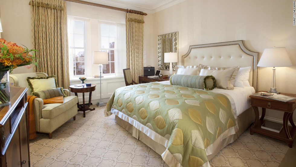 The Pierre in New York City offers a quiet place to convalesce after having plastic surgery. They also offer a package that includes car service to and from the procedure, in-room spa treatments and a specialty menu designed to encourage healing.