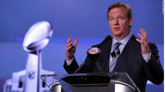 "NFL Commissioner Roger Goodell will review the suspensions of four players disciplined for involvement in the New Orleans Saints ""bounty"" program."