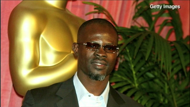 Djimon Hounsou's lonely upbringing