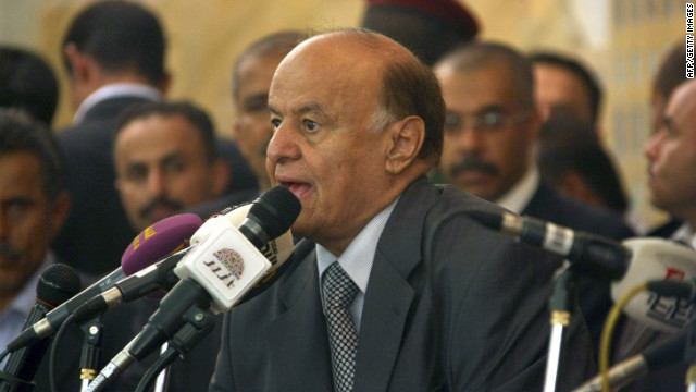 Yemen president Abdu Rabu Mansour Hadi has vowed to fight al Qaeda.