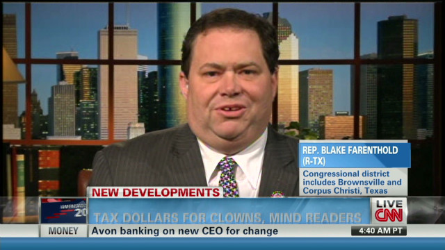 Farenthold: GSA job is to save money