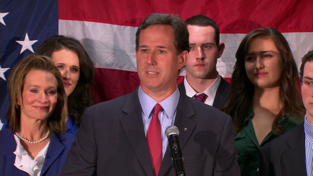 Santorum: This race is over for me