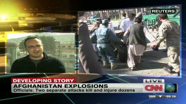 Deadly blasts rock Afghanistan