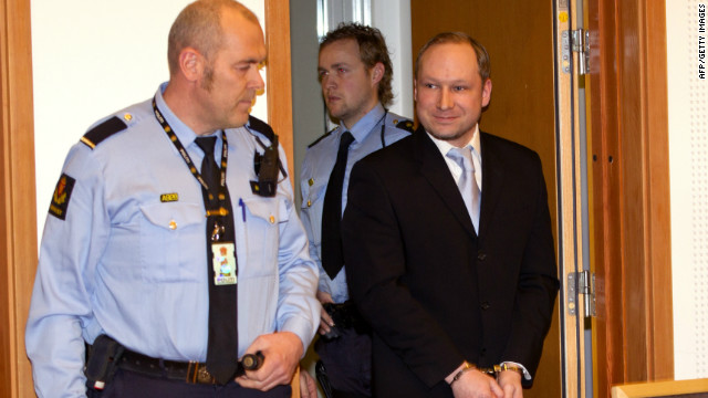 2nd study declares Norway gunman sane