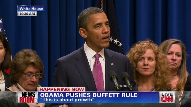 Obama: 'Buffett Rule' needs GOP support