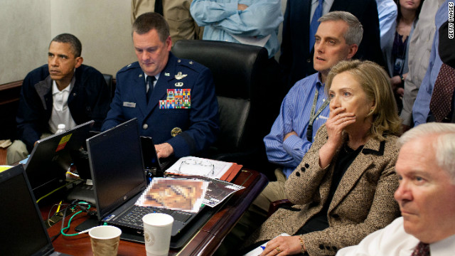 Clinton: Bin Laden raid 'intense, tense'