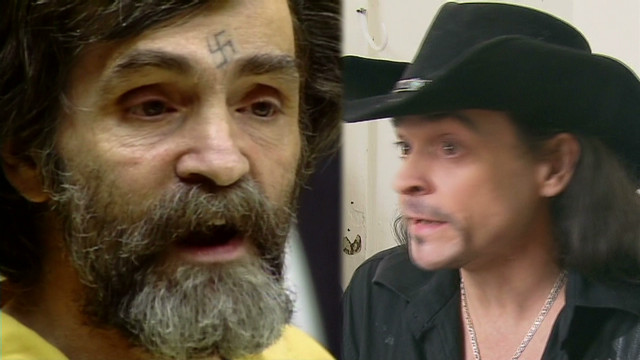 Man: I may be Charles Manson's son
