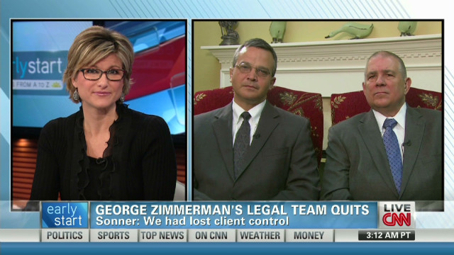 Lawyer: People know Zimmerman not in Fla.