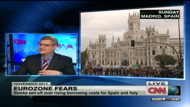 Spain woes spook global markets