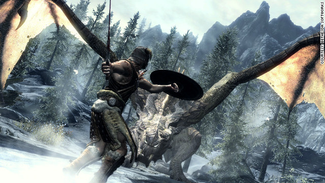 "This is either a scene from ""Skyrim"" or someone answering a Craigslist ad in Grand Rapids, Michigan."