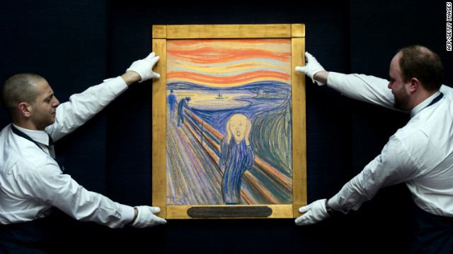 Final moments of 'The Scream' auction