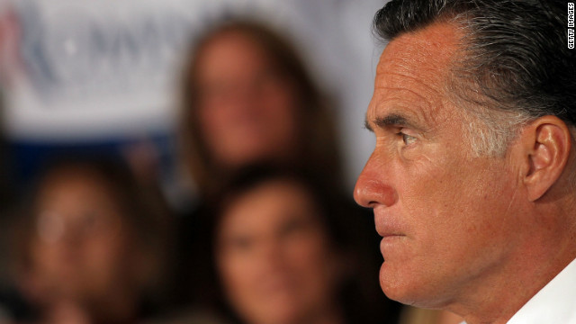 Republican presidential candidate Mitt Romney speaks to supporters Wednesday in Hartford, Connecticut.