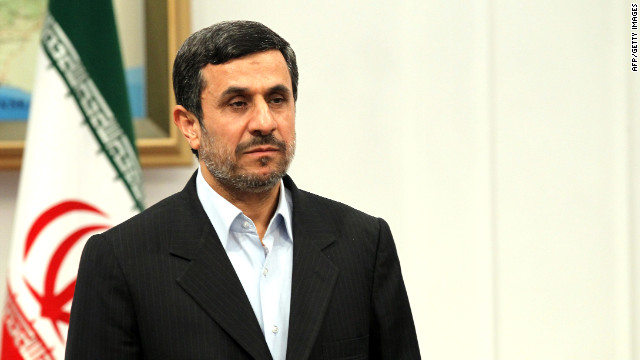 (file photo) Iranian President Mahmoud Ahmadinejad visited the disputed island of Abu Mousa in the Persian Gulf.