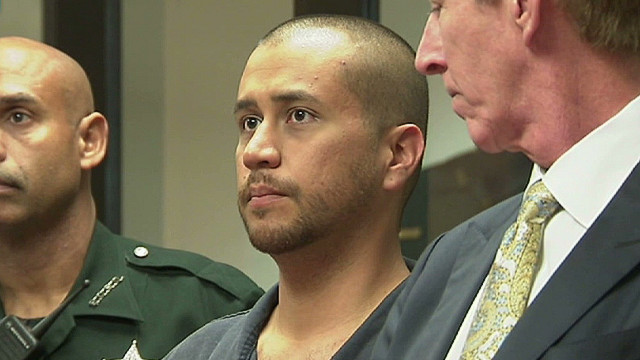 Zimmerman briefly in court