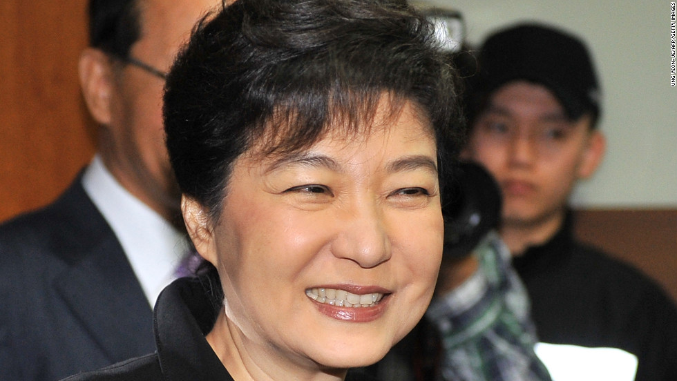 """The ruling Saenuri (or New Frontier) Party <a href=""""http://www.cnn.com/2012/04/12/world/asia/south-korea-elections/index.html"""">held onto parliament</a> in <strong>South Korea</strong>, boosting the presidential hopes of its leader, Park Geun-hye. South Korea picks a new president in December, and Park, if she is elected, would be the country's <a href=""""http://www.cnn.com/2012/08/20/world/asia/south-korea-presidential-candidate/index.html"""">first-ever female president</a>."""