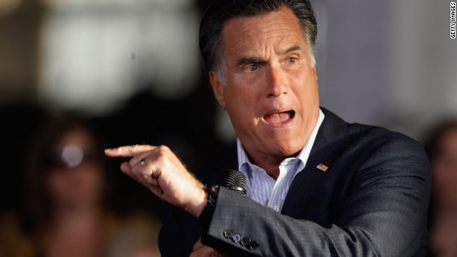 Mitt Romney's time as governor of Massachusetts is proving to be political loadstone, Fred Bayles observes.