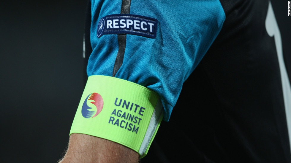 "European football's ruling body UEFA has run a ""Unite Against Racism"" campaign in recent years."