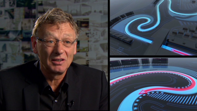 Inside Shanghai's F1 circuit design