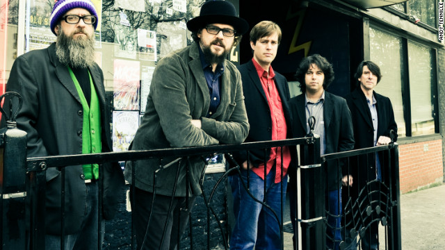 Patterson Hood, second from left, and the Drive-By Truckers have delved into Southern history in their albums.