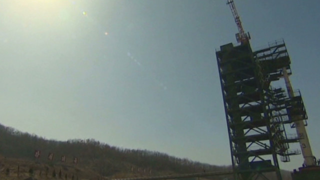 North Korean reaction to failed launch