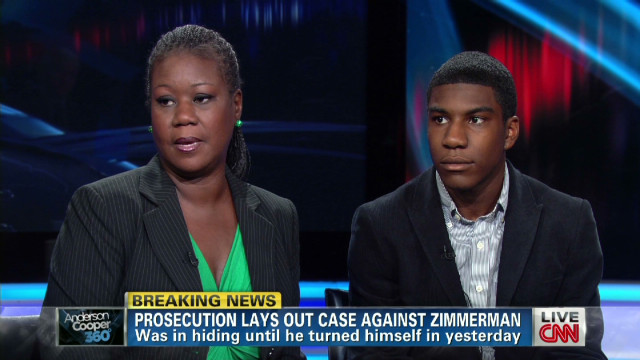 Martin's mother: No hate for Zimmerman