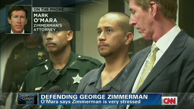 ac george zimmerman lawyer stressed_00004017