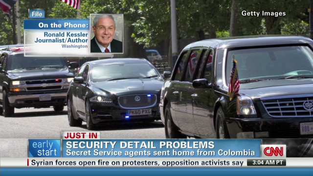Secret Service agents relieved of duty