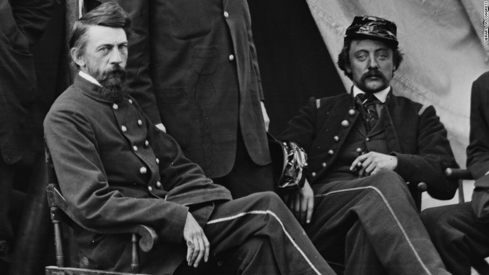 Jonathan Letterman (left) is credited with saving and treating countless wounded men during the Civil War after devising modern methods of medical organization on the battlefield.