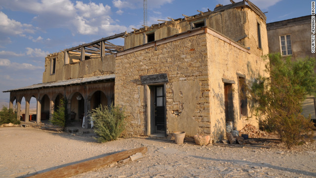 Spend a night at Upstairs at the Mansion if you're just passing through Terlingua, Texas.