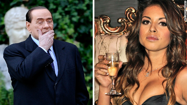 Dancer Karima el Mahroug said she never had sex with former Italian Prime Minister Silvio Berlusconi.