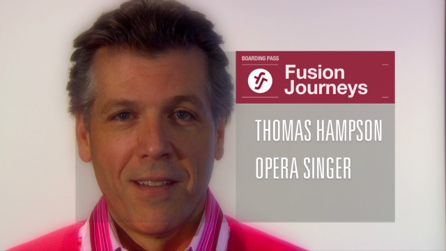 Thomas Hampson's 'Fusion Journey' begins