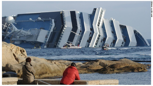 The salvage process to retrieve the wrecked cruise liner Costa Concordia is expected to take at least a year, according to the ship's owner.
