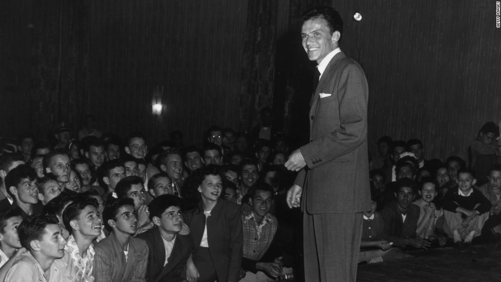 Something tells us a Frank Sinatra hologram would have no problems attracting a crowd. The performer died in 1998 at age 82.