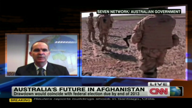 Australia's future in Afghanistan