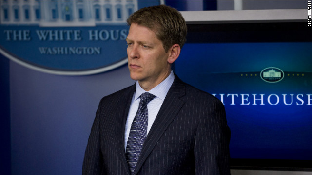 White House Press Secretary Jay Carney said President Obama has confidence in his Secret Service  director.