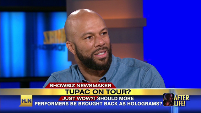 Common weighs in on Tupac's hologram
