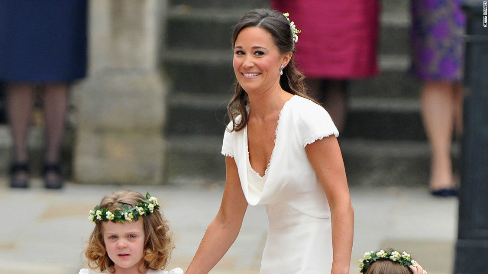 Pippa Middleton shot to fame in 2011 when she was bridesmaid at her sister Kate's wedding to Prince William in London.