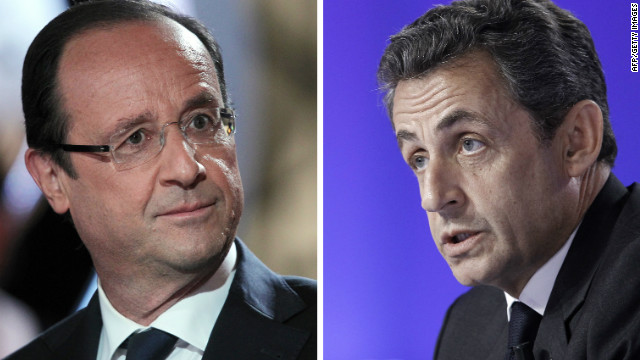 Either Francois Hollande or Nicolas Sarkozy will quickly have to tend to the trouble in the eurozone.