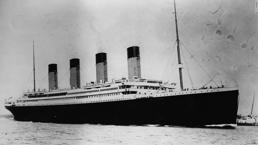 The newly commissioned RMS Titanic was the pride of the White Star Line in 1912 ahead of her fateful maiden journey.