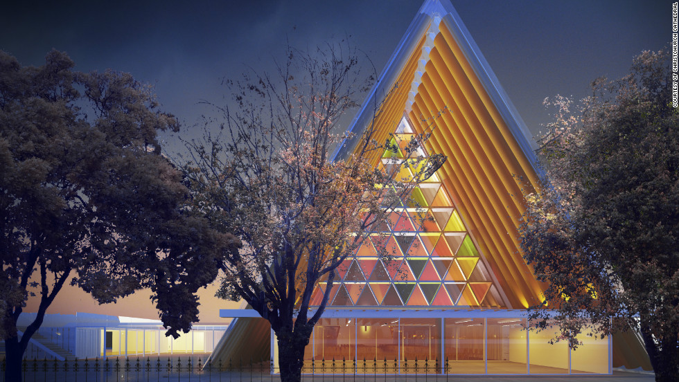 A new temporary cathedral has been given the go-ahead in Christchurch, New Zealand. The 700-seat facility incorporates cardboard tubes with timber beams, steel and a concrete base. It has been designed by Japanese architect, Shigeru Ban and will be completed by the end of 2012.