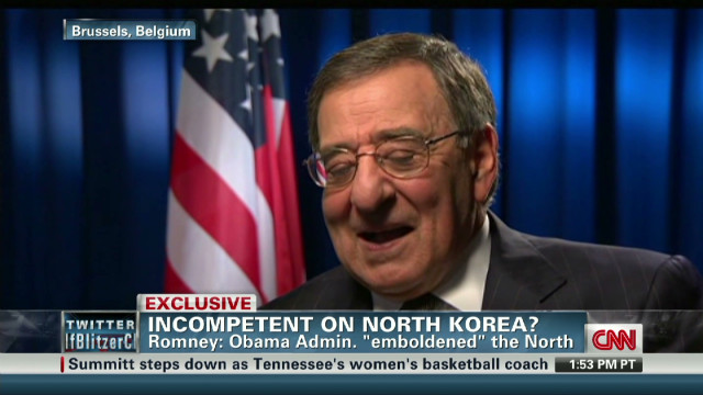 exp Clinton and Panetta on North Korea_00002001