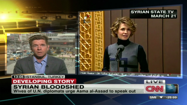Asma al-Assad to end Syria conflict?
