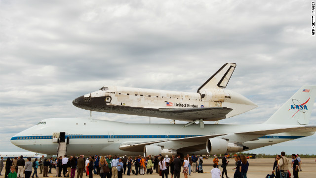 The final journey of space shuttle Discovery marks the emergence of private firms entering space exploration.