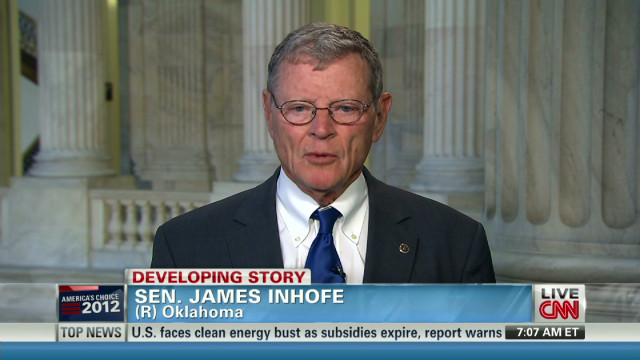 Sen. Inhofe weighs in on Nugent comments