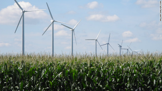 Century Wind Farm generates power in Iowa in 2011. In a new report, researchers say the U.S. needs to overhaul its support for clean energy as subsidies start to expire.