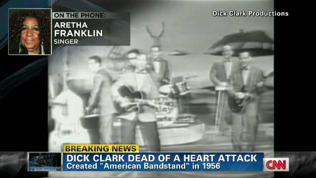 Aretha: Dick Clark party 'too fabulous'